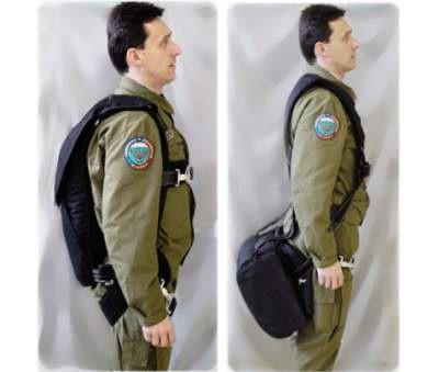 JU 40 - Záchranný padák pro piloty - verze sedací a zádová