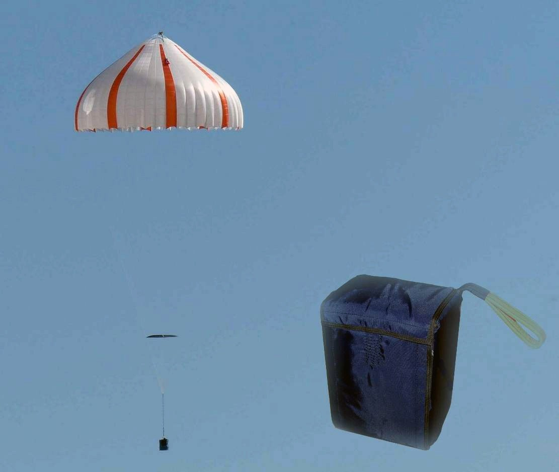 NP - Cargo parachute with various max.load