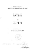 Patent 307171